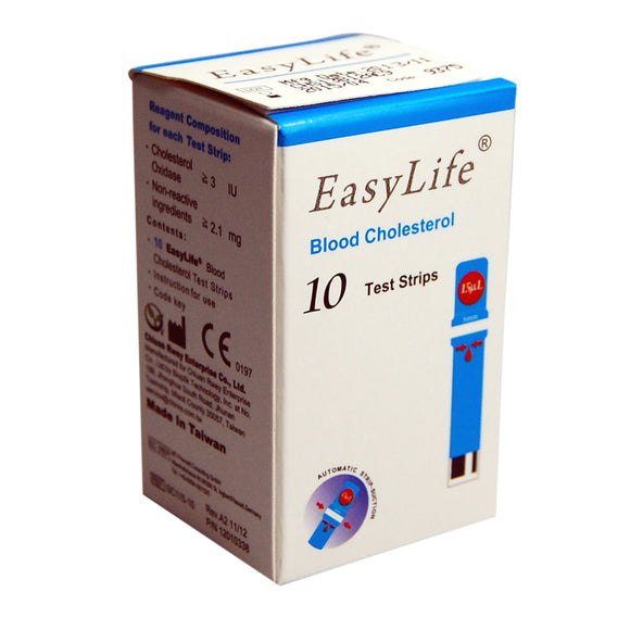 Easylife blood cholesterol test strips