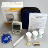 cholesterol glucose and uric acid meter system