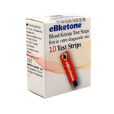 10 blood ketone test strips eBketone