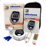 ebketone blood ketone meter and test strips and lancets