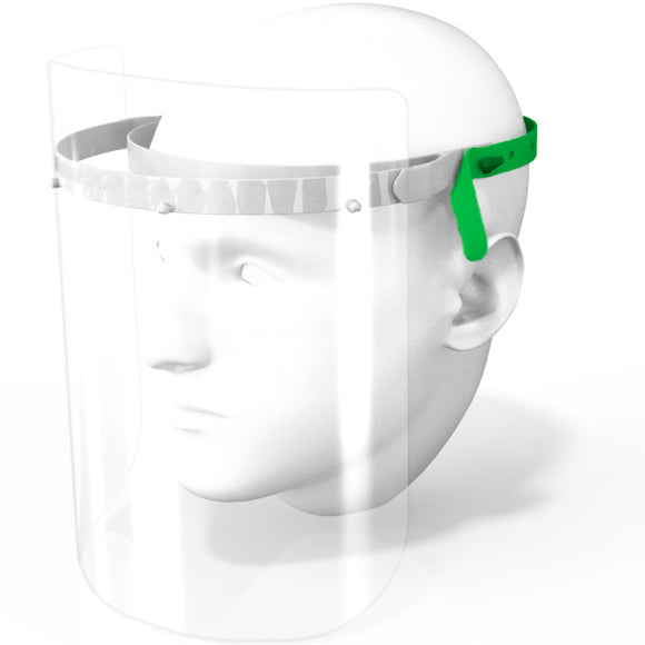 Anti viral PPE face shield