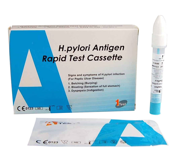 H Pylori stomach ulcer test kit