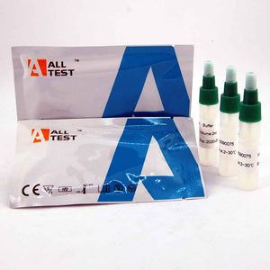 Lactoferrin test kit