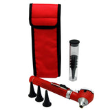 red fibre optic otoscope pocket otoscope