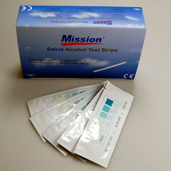 mission saliva alcohol test kits