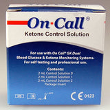 on call blood ketone test strips 25