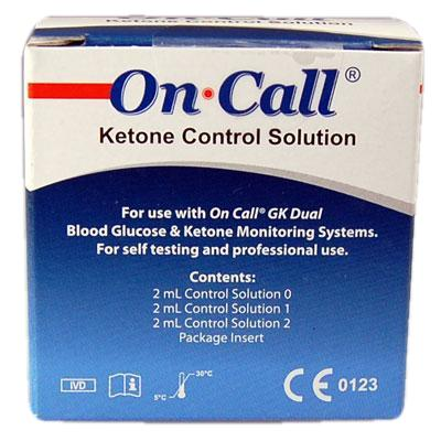 on call ketone control solution