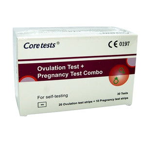 Core ovulation and pregnancy test kits