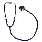 purple tube stethoscope