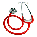 red dual head stethoscope