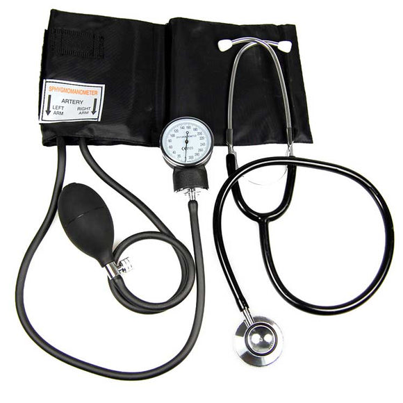 sphygmomanometer and stethoscope set