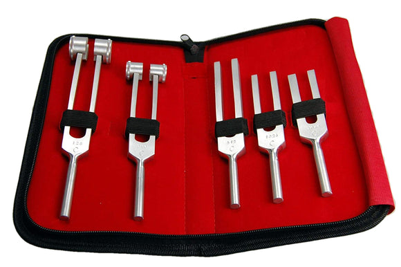 medical tuning fork set