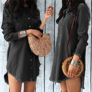 Love Of Mine Shirt Dress