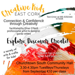 Kids Art classes East cork