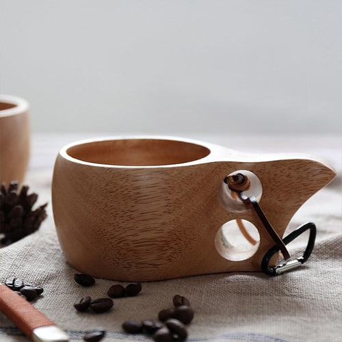 Wood Mug Wooden Coffee Cup