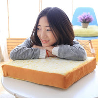 Toast Sliced Bread Pillow