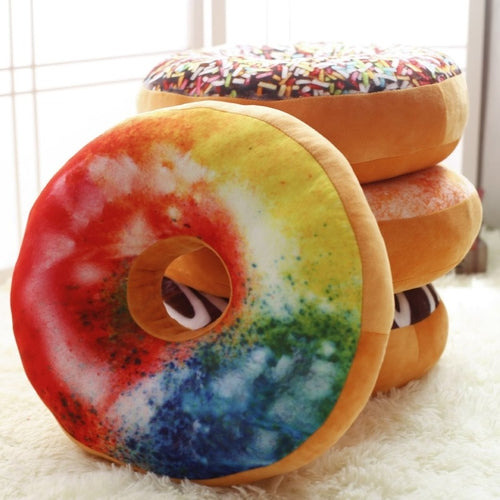 Sweet Treats Donut Pillow