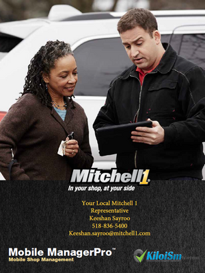 Mitchell 1 Mobile Manager Pro Brochure