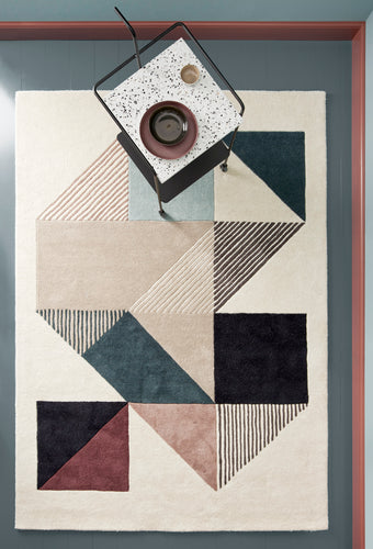 Mikill Rug by Linie Design - Most Popular & Affordable Handcrafted Woolen Rug