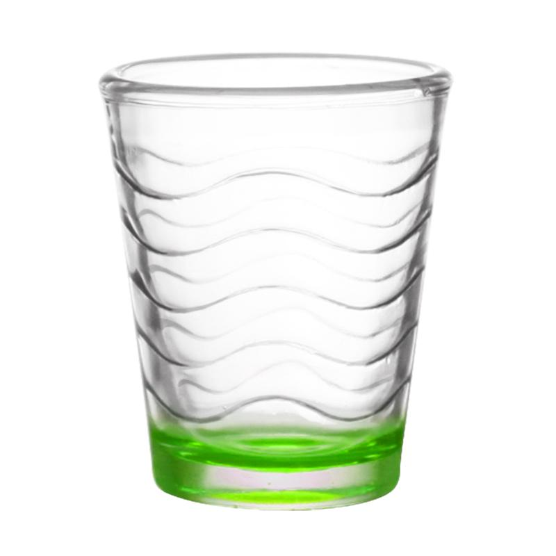 BarConic® 1.75oz Green Wave Shot Glass