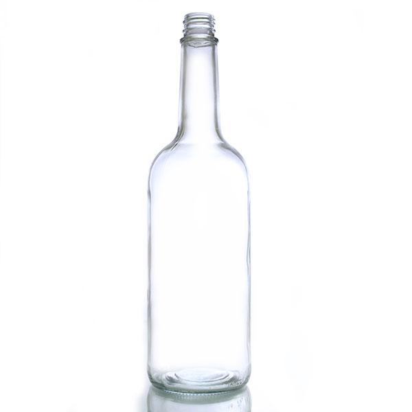 Glass Liquor Bottle - 1 Liter