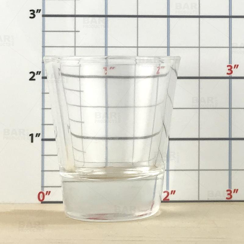 BarConic® 1.5 oz Clear Thick Base Shot Glass