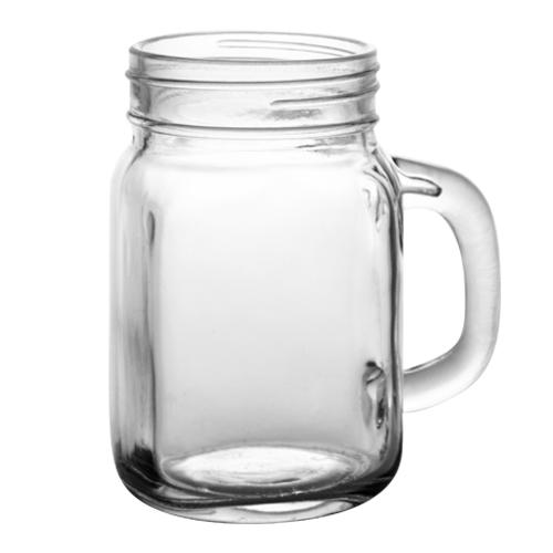 BarConic® Mason Jar Mug Glass - 12 ounce - CASE OF 12