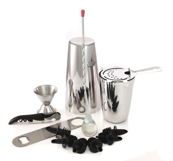 Pro Bar Set - Stainless Steel - 13 Pieces