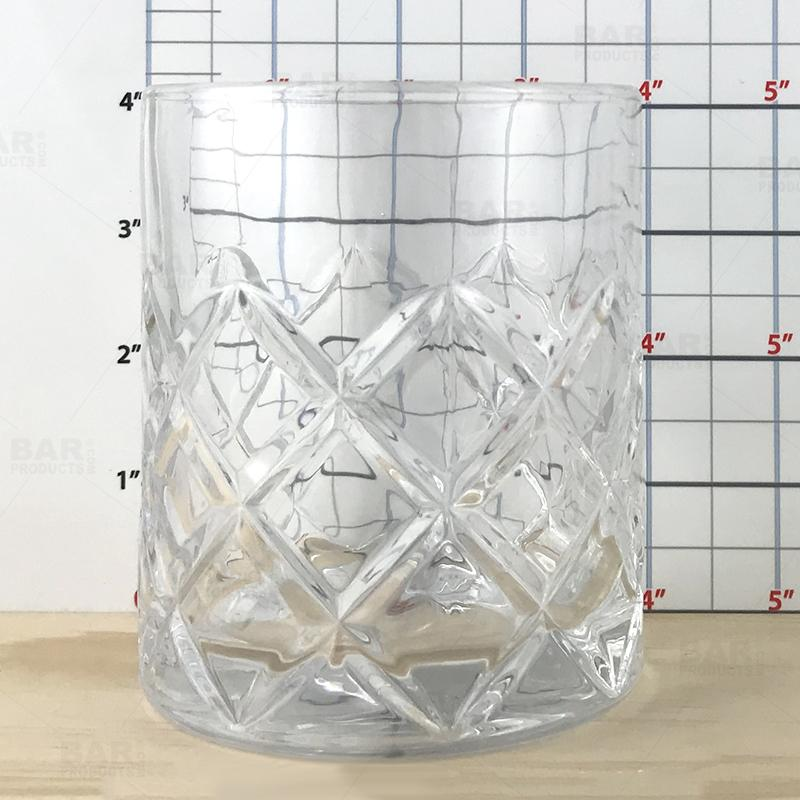 BarConic® Japanese Diamond Cut 14oz Highball Glass