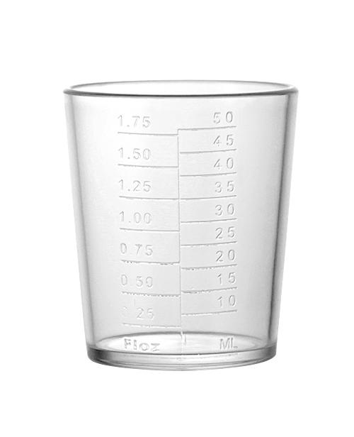 16oz 3 Piece Plastic Shakers- measuring lid