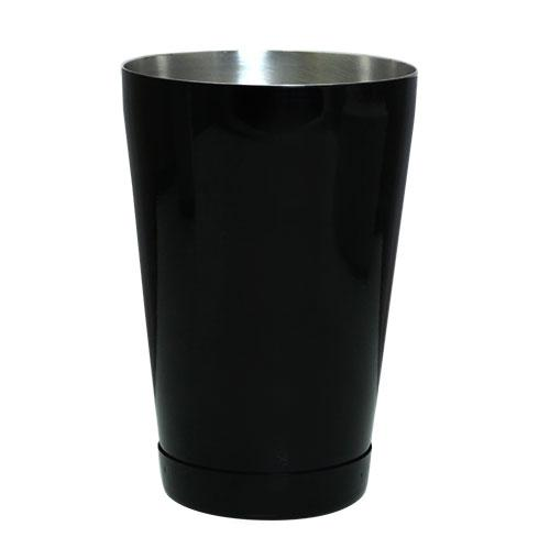 BLACK - Powder Coated 18 oz. Weighted Cocktail Shaker