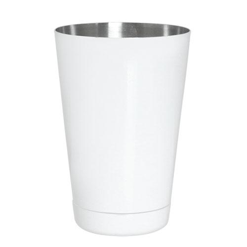 WHITE - Powder Coated 18 oz. Weighted Cocktail Shaker