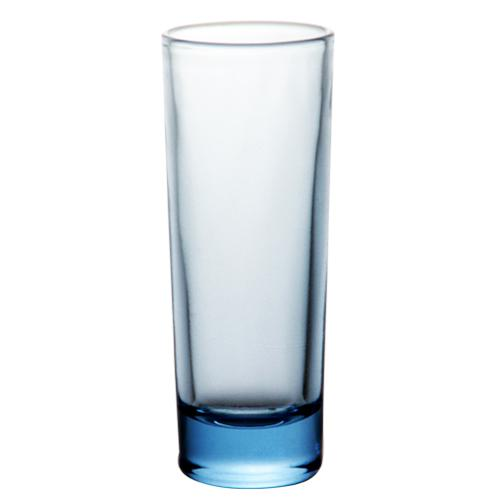 BarConic® 2oz Tall Blue Shooter Glass