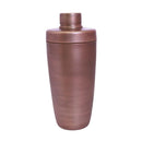 BarConic® 3 Piece Antique Finish Plated Shaker Set - 28 oz Flat Top