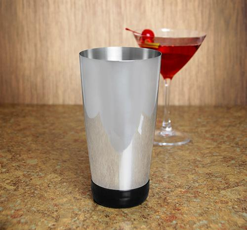 Vinyl Base 28 oz Weighted Cocktail Shaker