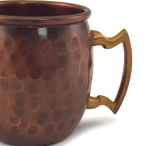 BarConic® Moscow Mule Mini Mug – Antique Finish 2oz. - Handle