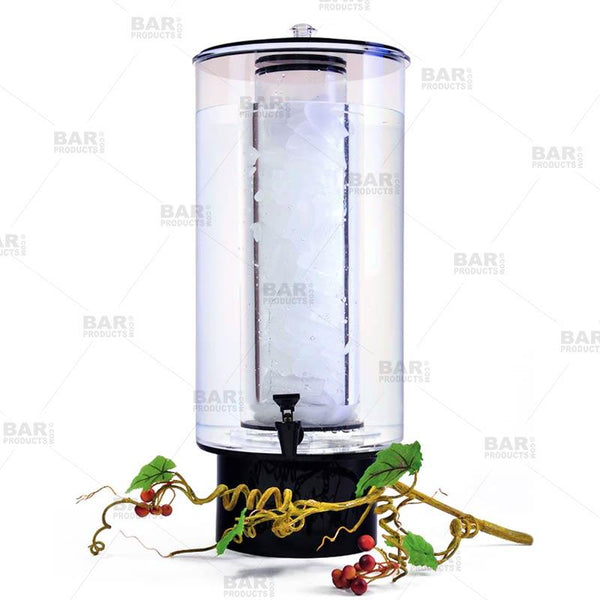 3-Gallon Drink Dispenser with Ice Tube