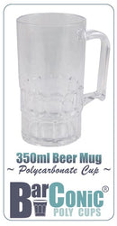 BarConic 350ml Polycarbonate Beer Mug