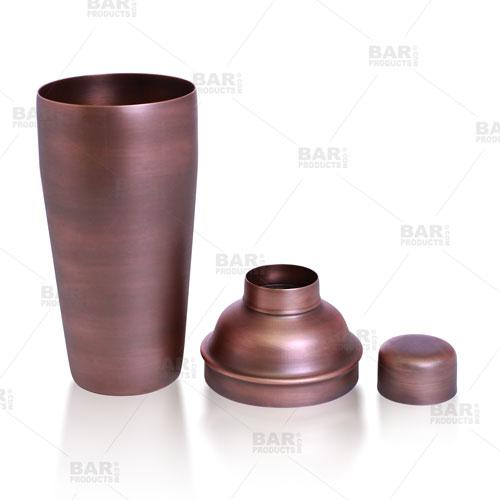 BarConic® 3 Piece Cocktail Shaker Deluxe
