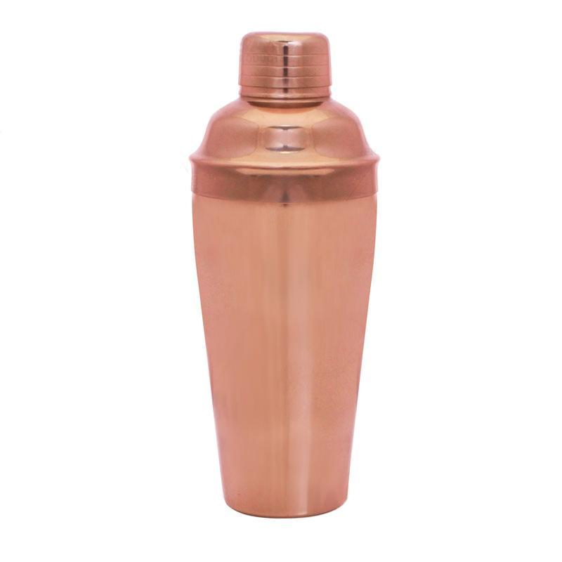 BarConic® 3 Piece Copper Plated Shaker Deluxe Set - 24 oz