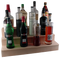 "Wood Liquor Bottle Shelves - 24"" - Options Available"