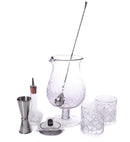 BarConic® Stemmed Diamond Bar Kit w/44 oz Mixing Glass Set