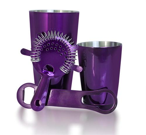 4 Piece Candy Purple Package with V-Rod®