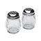 Clear Swirl Shaker Perforated Top - Pizza Cheese/Red Pepper Shakers