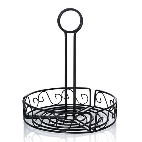 "7 4/5"" Round Condiment Caddy"