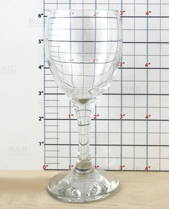 BarConic® Tall Wine Glass - 7 ounce (Case of 12)