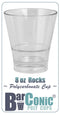 BarConic 8oz Polycarbonate Rocks Cup
