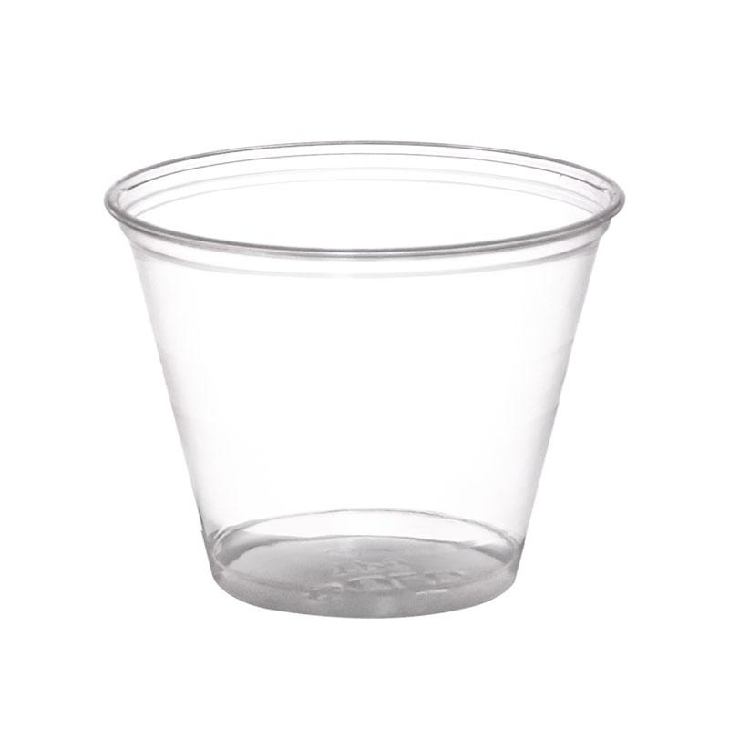 BarConic 9oz Clear Plastic Cups