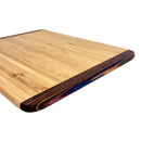 bamboo rainbow cutting board