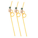 Pineapple Twist Straws